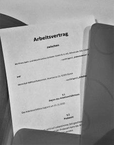 Lorbach Rechtsanwaltskanzlei Arbeitsvertrag Düren